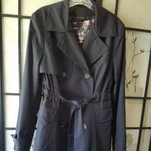 LIMITED black trench, size med, 173